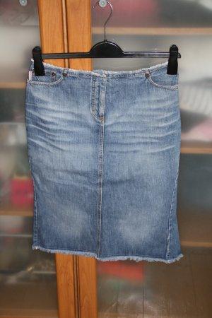Paul Smith Gonna di jeans azzurro-blu pallido Cotone