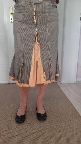 Dept Denim Skirt multicolored