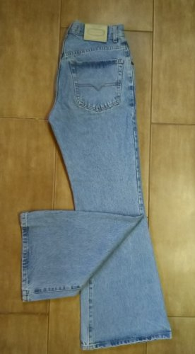 Jeansschlaghose Bleifrei