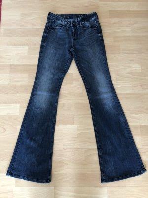 Jeansschlaghose Gr. W.26  L.32