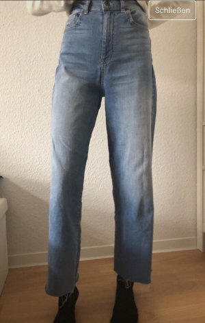 Jeansschlaghose High Waist