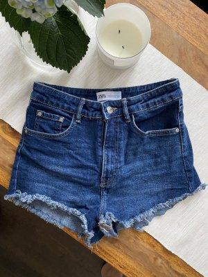 Jeansshort Blau
