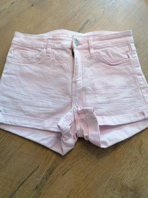 H&M Pantaloncino di jeans rosa