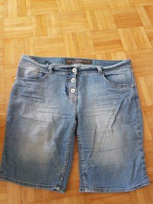 Cecil Pantaloncino di jeans azzurro