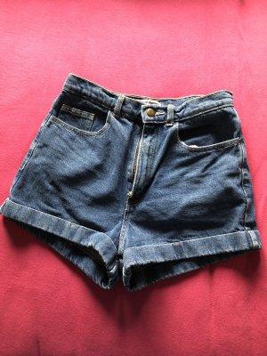 Jeansshort High Waist