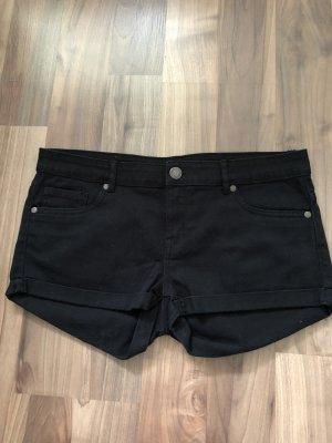 Jeansshort schwarz