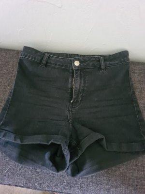 Jeansshort schwarz letzte Preissenkung
