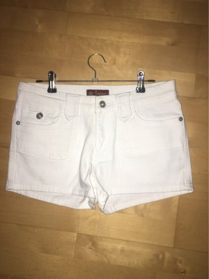 Hype Pantaloncino di jeans bianco
