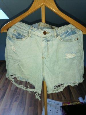 Denim Co. Short en jean bleu clair