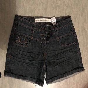 Next Short en jean bleu foncé