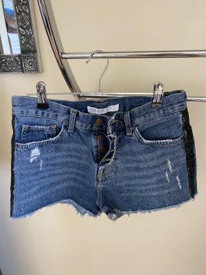 Zara Denim Shorts blue
