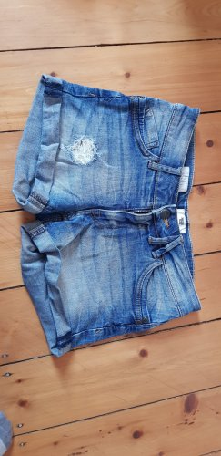 America Today Hot pants donkerblauw