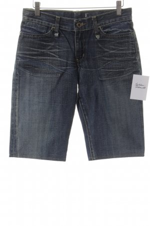 Jeansshorts dunkelblau Casual-Look