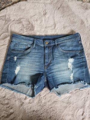 H&M DENIM Short en jean bleu