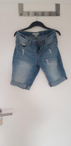 H&M L.O.G.G. Denim Shorts light blue