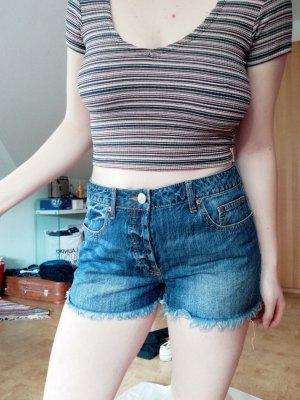Forever 21 Short en jean bleu-bleu foncé