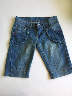 Denim Shorts steel blue