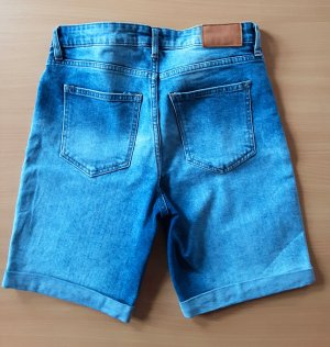 Jeansshorts Gr. 38 von H&M blau