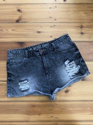 Jeansshorts grau