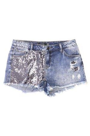 Jeansshorts Größe 38 blau aus Baumwolle