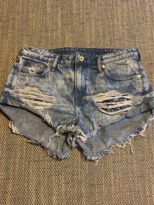 Jeansshorts H&M, blau, Größe 38
