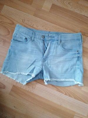 Jeansshorts hellblau