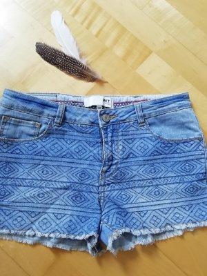 MKT Studio Denim Shorts neon blue