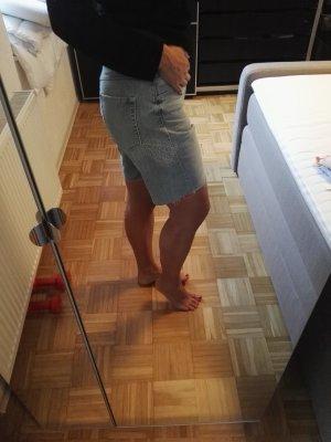 Jeansshorts mit Stickerei Marc O'Polo Bermudas kurze Hose M