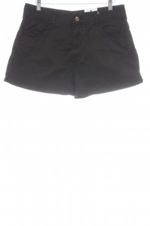 Jeansshorts schwarz Casual-Look