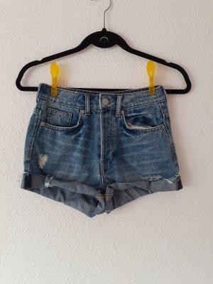 Jeansshorts Shorts Größe 32 von H&M blau