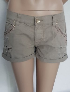Miss Sixty Denim Shorts beige