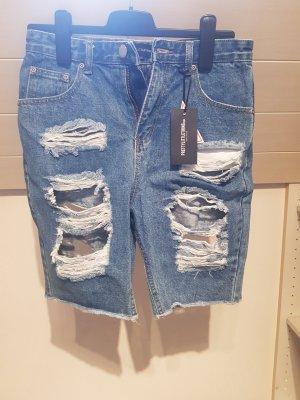 Jeansshorts von PrettyLittleThing