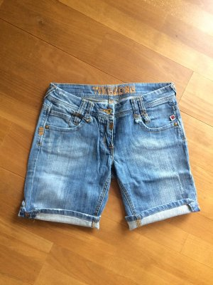 Timezone Denim Shorts steel blue-azure