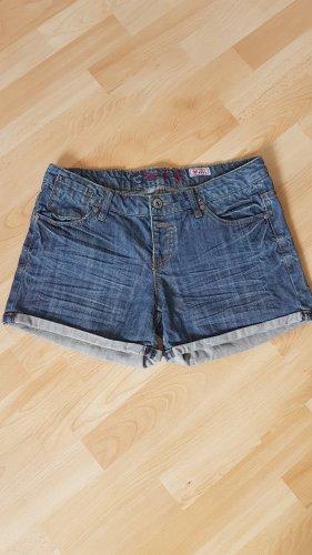 Jeansshorts von von Fresh Made Gr. 38