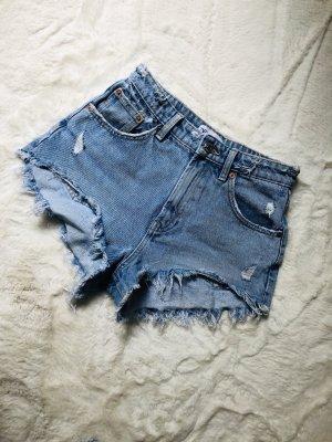 Jeansshorts von zara high waist