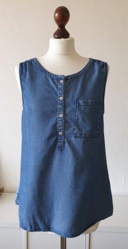 Jeanstop/Jeansbluse von  Esprit * Gr.M (38) * blau