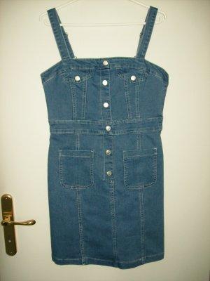 Amisu Jeansjurk lichtblauw