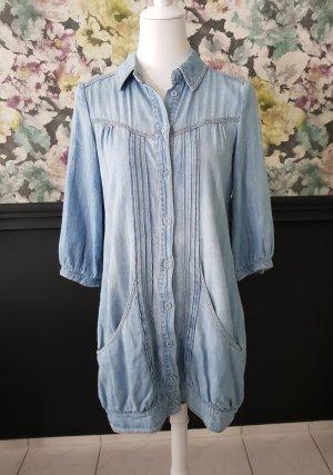 Blanco Tunic Dress azure