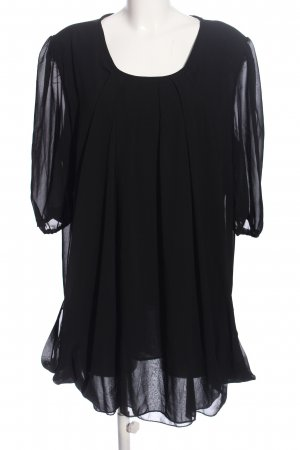JEANSWEST Petticoatkleid schwarz Casual-Look