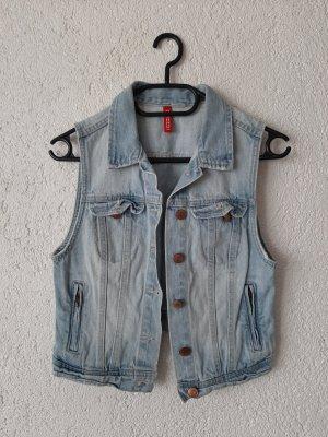 H&M Smanicato jeans azzurro