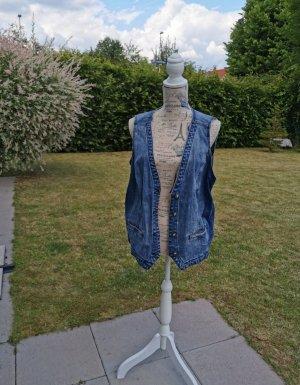 Gina Benotti Smanicato jeans blu