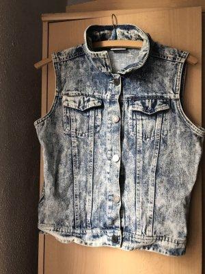 Smanicato jeans multicolore Cotone