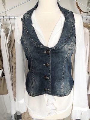 Jacky-O Smanicato jeans grigio ardesia