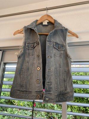 H&M Gilet en jean bleu