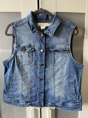 H&M L.O.G.G. Gilet en jean bleu