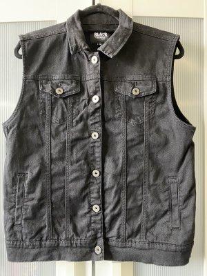 Black Premium by EMP Gilet en jean noir