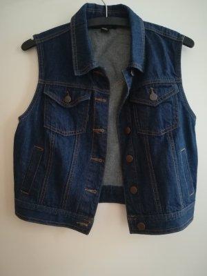 Forever 21 Gilet en jean bleu