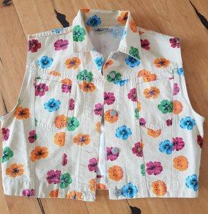 Livre Denim Vest multicolored mixture fibre