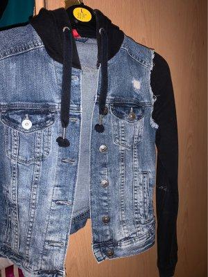 H&M Denim Vest dark blue-black