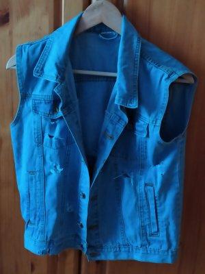 Denim Vest blue